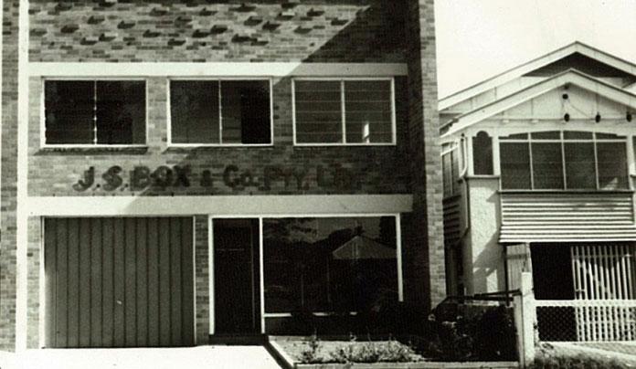 Holden St Building 1943
