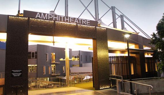 ampitheature entrance